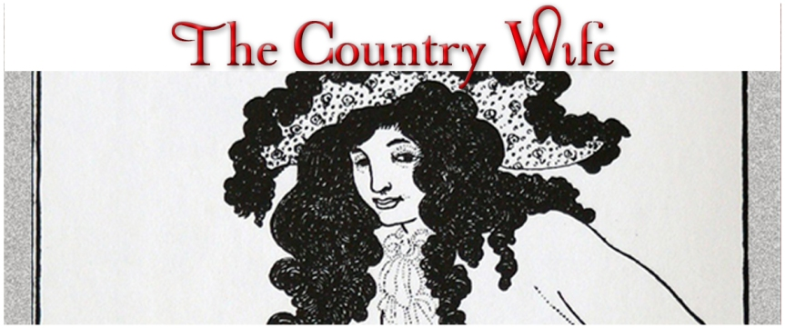"""Country Wife"" Wycherley ""Restoration comedy"" Nicholson adaptation"