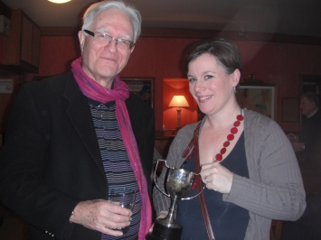 COLOUR OF GRASS, Dalkey Players 2012 -David, Emma Jane Nulty with Best Actress award