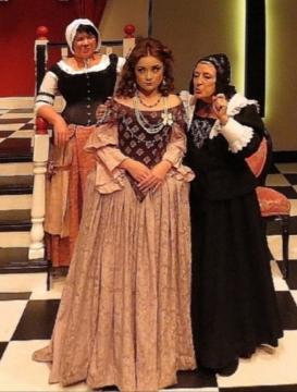 Hunters Hill Theatre, Sidney AU 2014 - Brooke Davidson, Amylea Griffin, Jennie Bazell