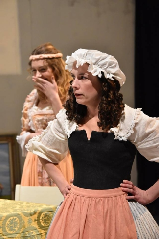 "Tartuffe Moliere ""David Nicholson"" ""Scarborough Theatre Guild"" Mariane Dorine ""Krista Mihevc"" ""Kerrie Lamb"""