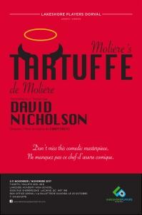 "Tartuffe ""David Nicholson"" ""Lakeshore Players, Dorval"" poster ""Jennifer Palesch"""