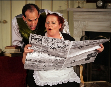 Village Players 2009, Jeff Orchard, CeAnne Walsh