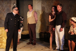 Village Players, Toronto - Alan McKenzie, Jonathan Thomas, Carly Tisdall, David Phillips, Janice Tate