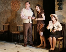 Village Players, Toronto - Jonathan Thomas, Carly Tisdall, Janice Tate