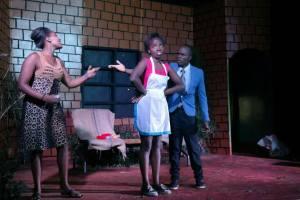"Tartuffe Moliere ""Kenya National Theatre"" Nairobi Dorine Mariane Valere"