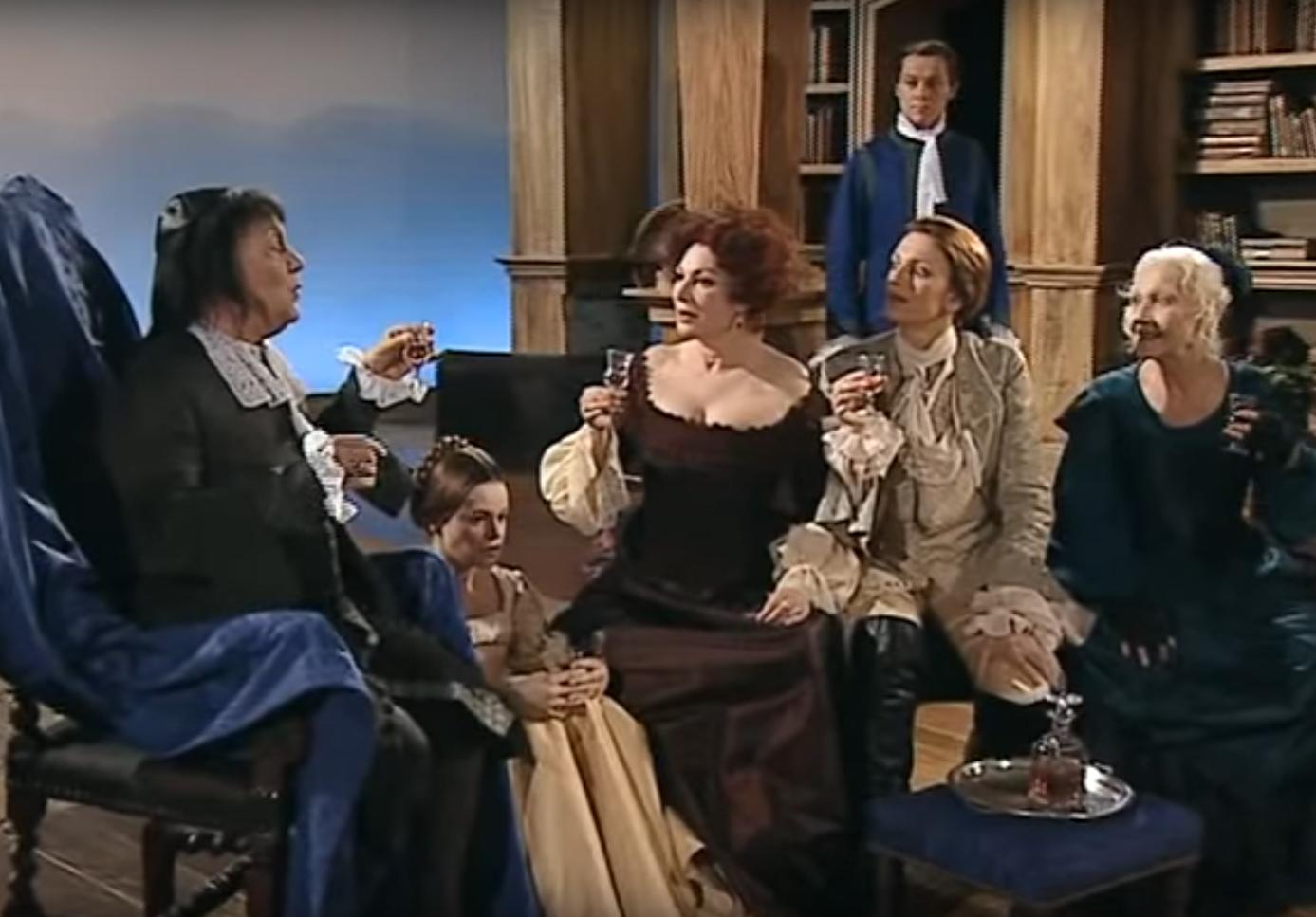 """""""Comédie-Française"""" """"Yves Gasc"""" Trissotin """"Les  Femmes"""